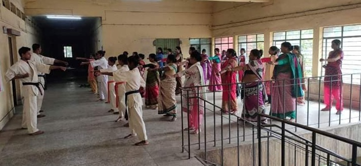 ECL organized three days self defense classes for female employees