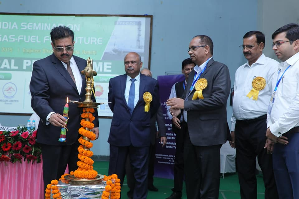MECON participated in seminar on Natural Gas Fuel For Future at Ranchi