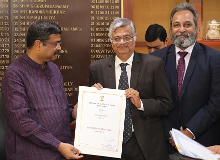 BPCL Wins 1st prize of Swachhta Pakhwada Awards