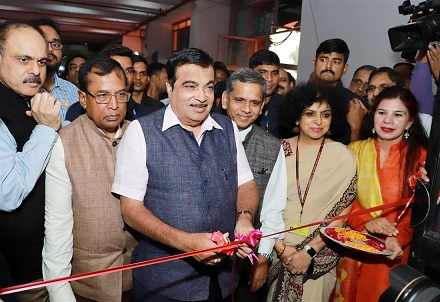 Shri Nitin Gadkari inaugurates the 39th India International Trade Fair
