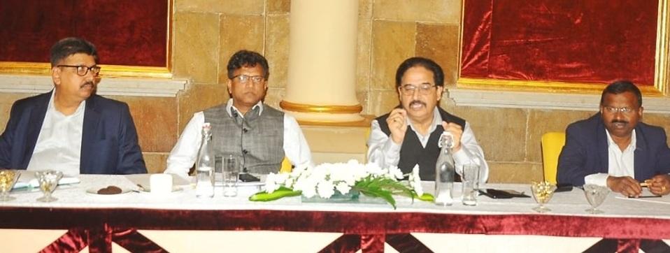 Dr. Ashutosh Karnatak CMD reviews GAIL Gas Bengaluru CGD performance