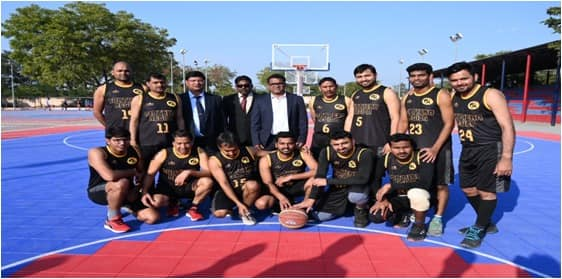 GAIL India Limited Recently Organized 26th Inter Regional Sports Meet For Basketball