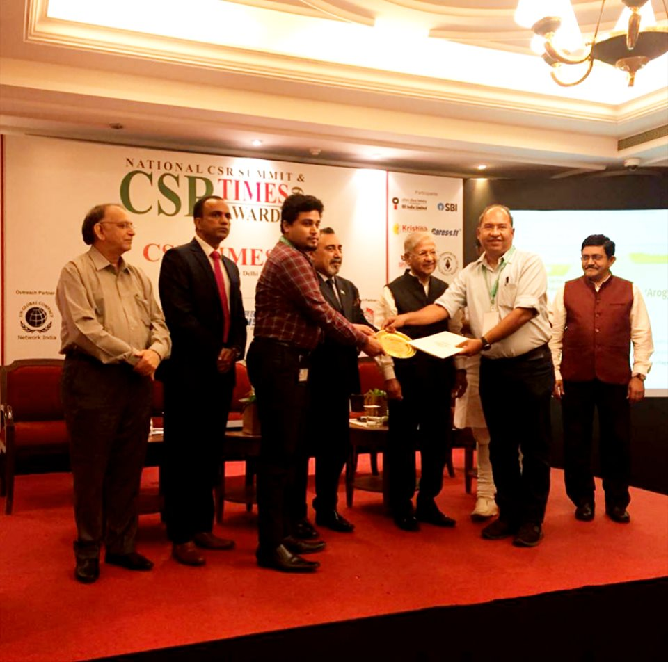 GAIL India Limited conferred The Best PSU award