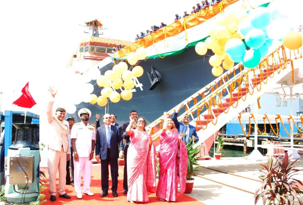 GSL LAUNCHED SECOND 105 M OPVs FOR SRI LANKAN NAVY
