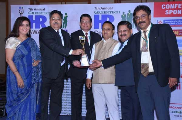 Oil India Limited awarded with HR Platinum Award 2017