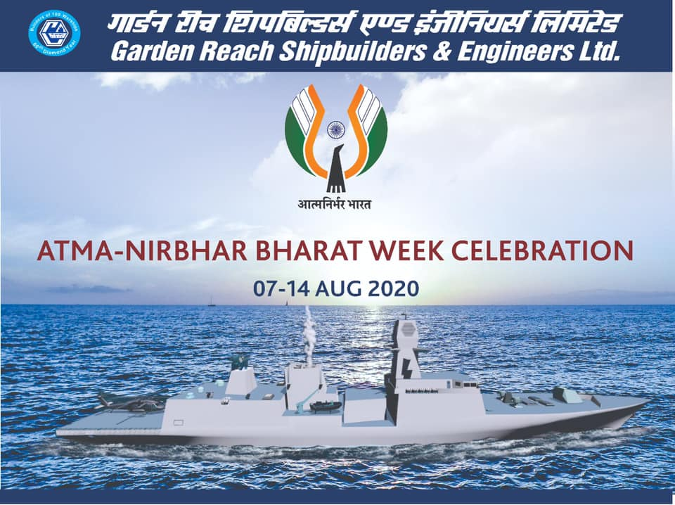 GRSE Celebrate Atmanirbhar Week