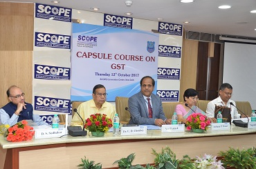 SCOPE Conducts Capsule Course on GST for PSU Officers