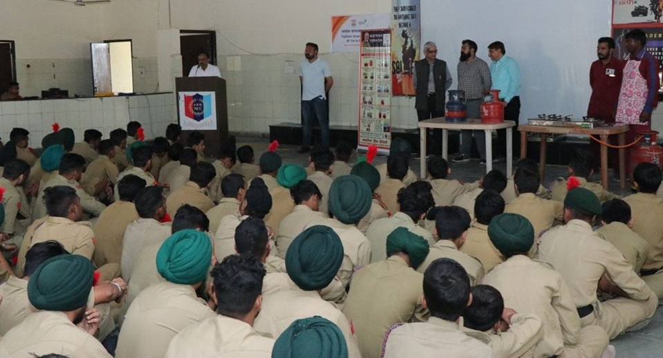 LPG Safety Camp conducted at NCC Training Academy