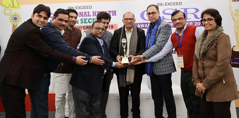 HPCL conferred with 6th EXCEED gold award under CSR category