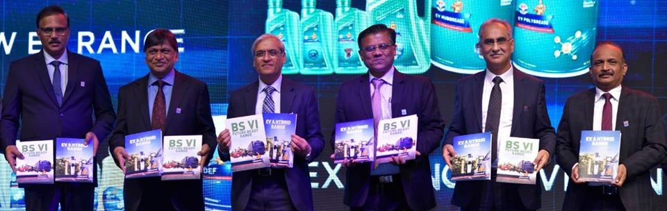 HPCL launches the entire range of lubricants and specialty fluids