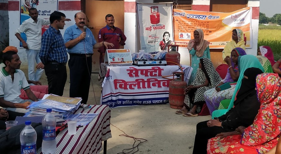 HPCL conducted Gas Service Safety Clinic at Sultanpur