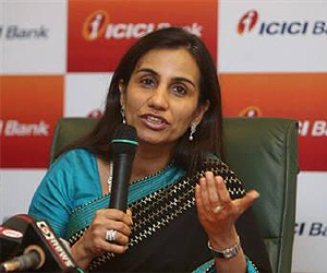 ICICI Bank chief Chanda Kochhar receives Woodrow Wilson Award