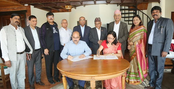 IFFCO signs MoU with Nepal NCF