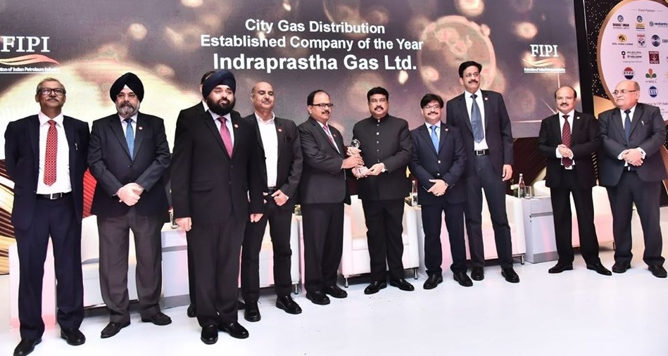 IGL Wins City Gas Distribution Of The Year Award