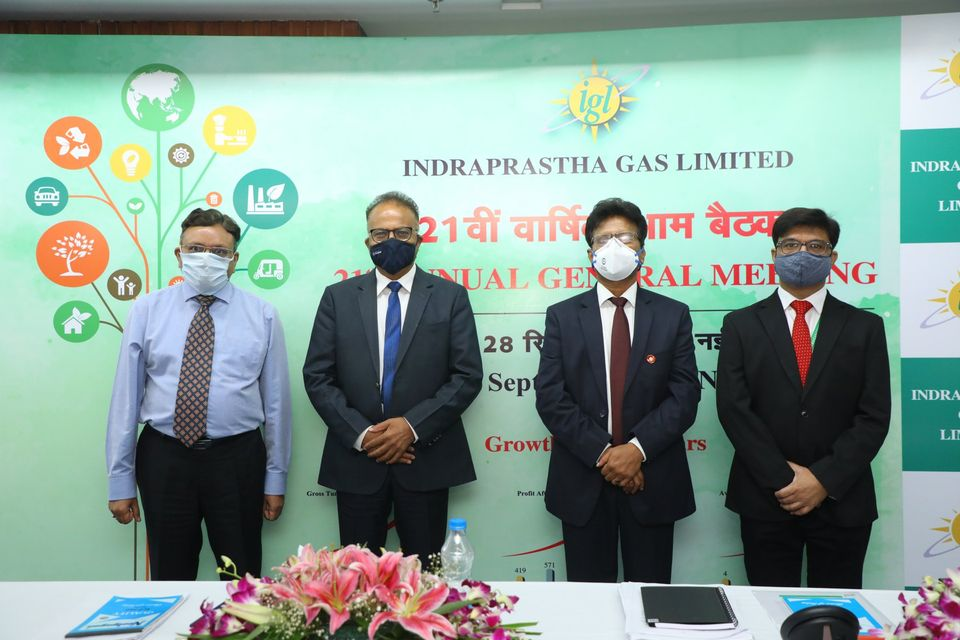 21st Annual General Meeting of Indraprastha Gas Limited