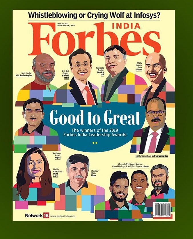 IGL features among the august winners of Forbes India Leadership Awards 2019