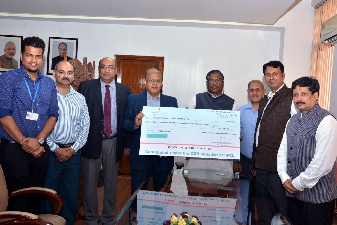 IIFCL Received the Governance Now 7th PSU Awards 2020