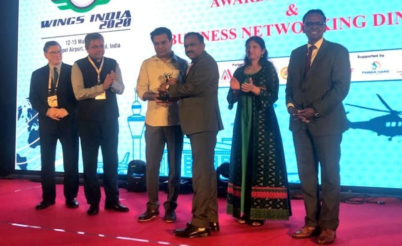 Indian Aviation Academy Bagged Best Aviation Skills And Training Provider Award