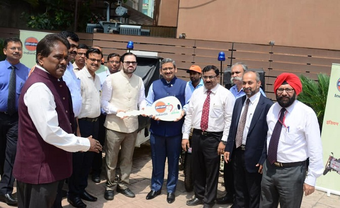 IndianOil Provides 15 bike Ambulances to Jharkhand