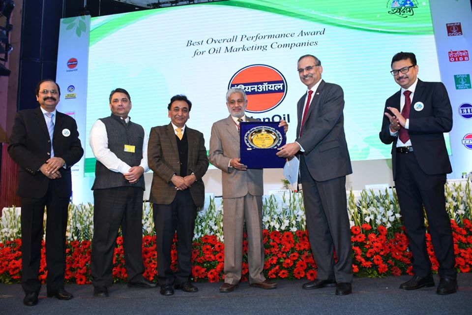 PCRA Conferred IndianOil With Best Overall Performance Award