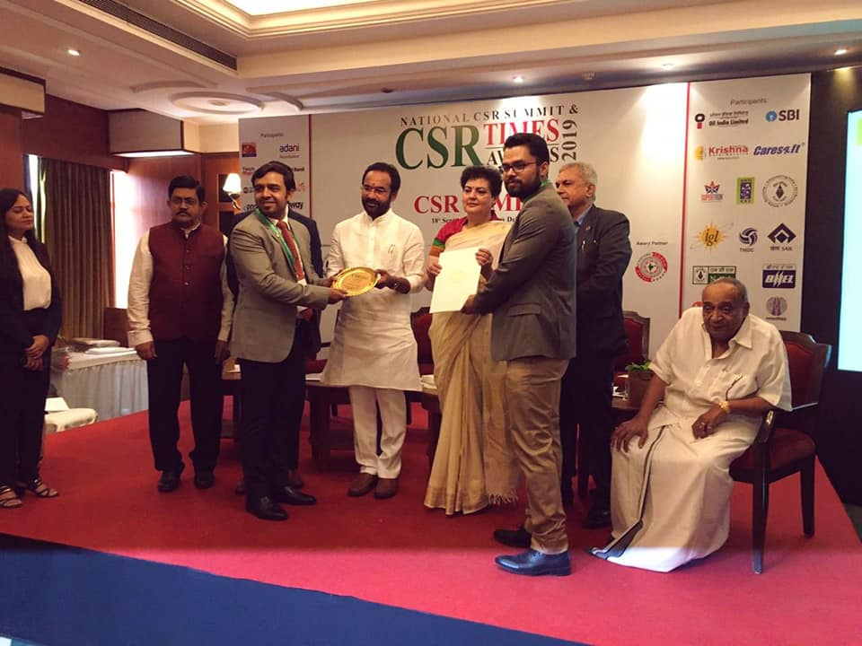 Oil India Limited conferred The Best PSU award