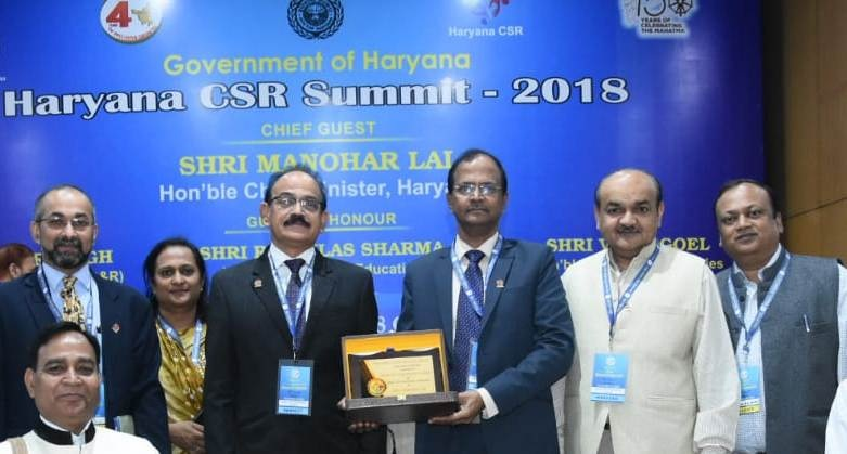 IndianOil Bestowed with Diamond Haryana CSR Award