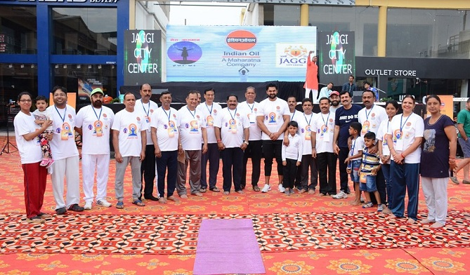 International Day of Yoga Celebrated at IOCL
