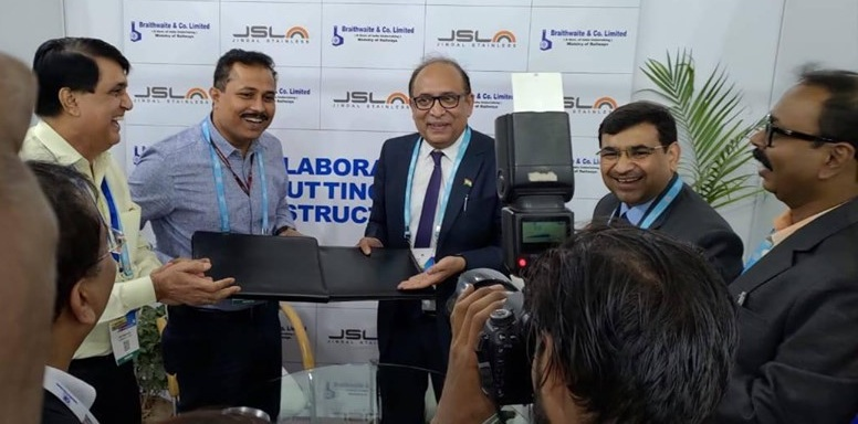 Braithwaite and Co. Ltd signed MoU with JSL