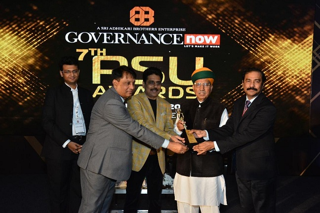 KIOCL Bagged Best PSU Award in Resilient Growth Category