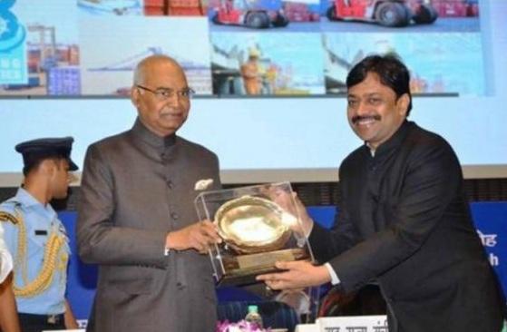 Jawaharlal Nehru Port Trust wins Rajbhasha Kirti Award