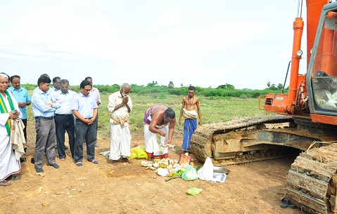 NLCIL is undertaking desilting of water bodies in peripheral Villages