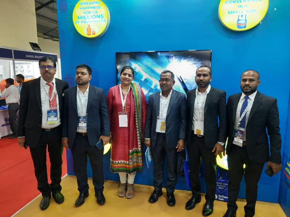 Bharat petroleum stall at the first south asia LPG Expo