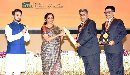 National CSR Award conferred to MCL