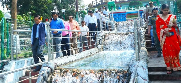 Principal Secretary to PM visited Hirakud Dam