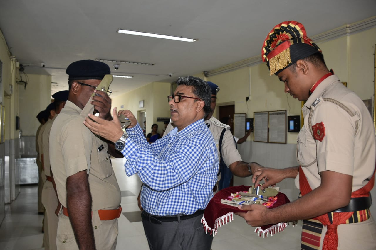 Pipping Ceremony of Security Inspectors