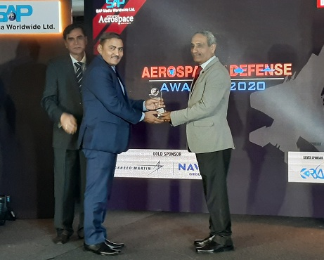 MDL receives award for outstanding contribution in naval systems