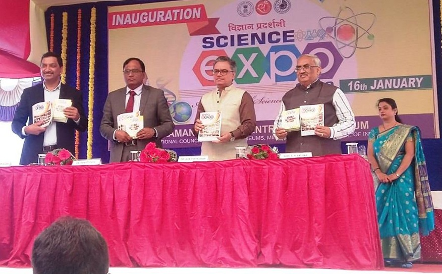 Dr Ranjit Rath CMD MECL Inaugurates RSC Science Expo 2020