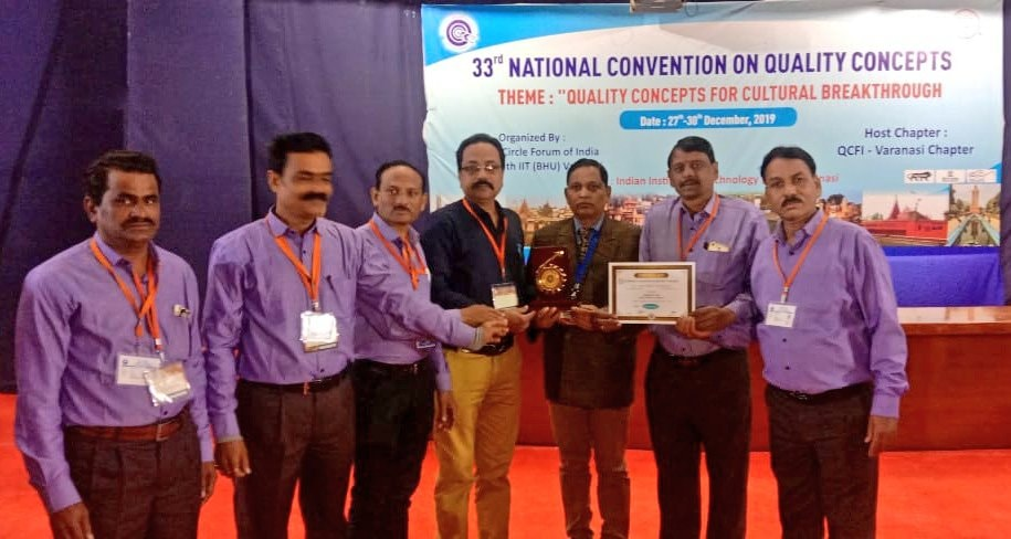 33rd National convention of quality concepts organised in Varanasi MOIL