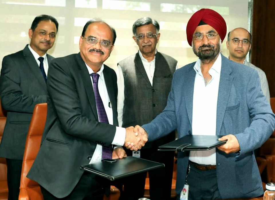 BEML signed MOU  with Bharat Forge