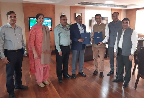 NBCC Signs MOU for re-development of railway stations pan India