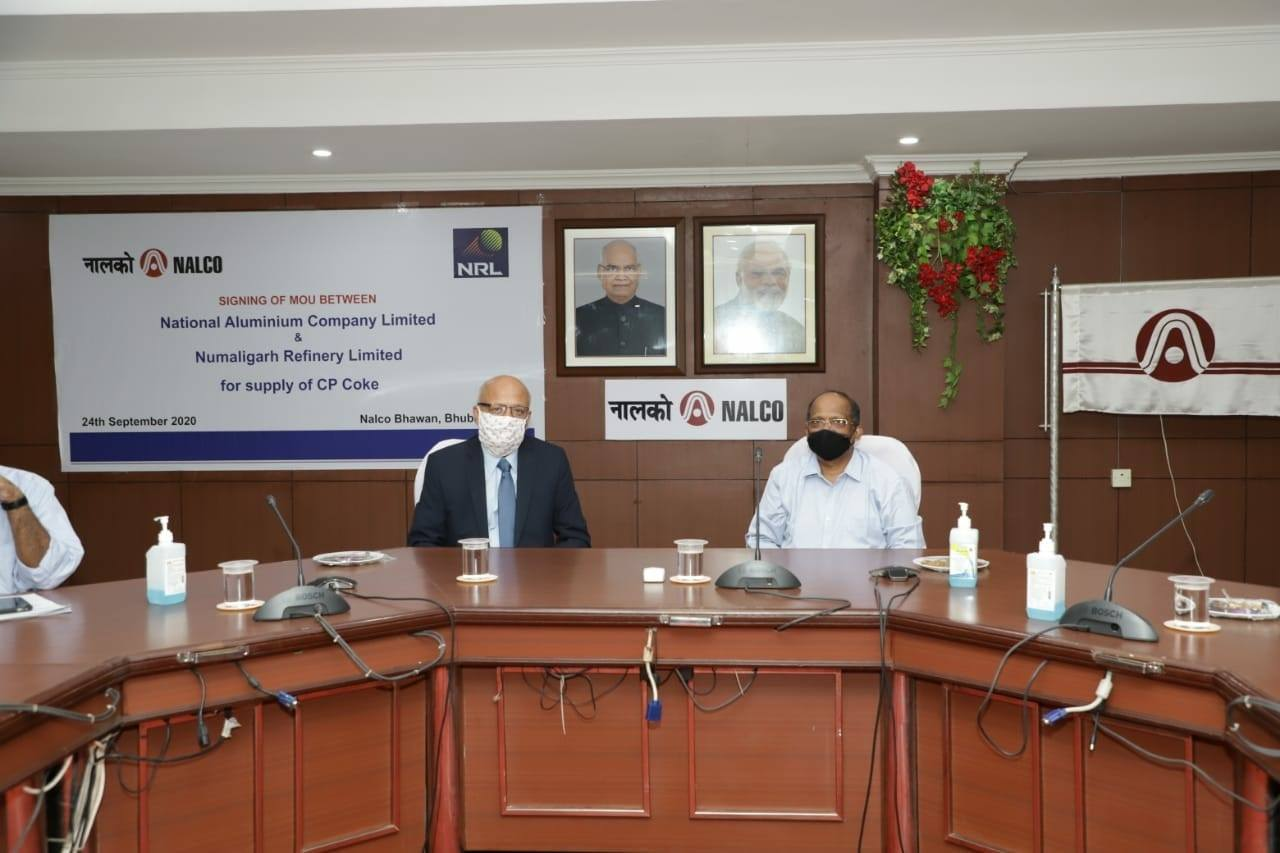 NALCO signed MoU with NRL