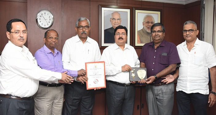 Global Indian Business Leader Award for CMD NALCO