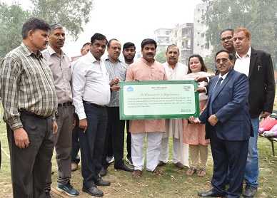 NBCC Planted 1000 tree saplings