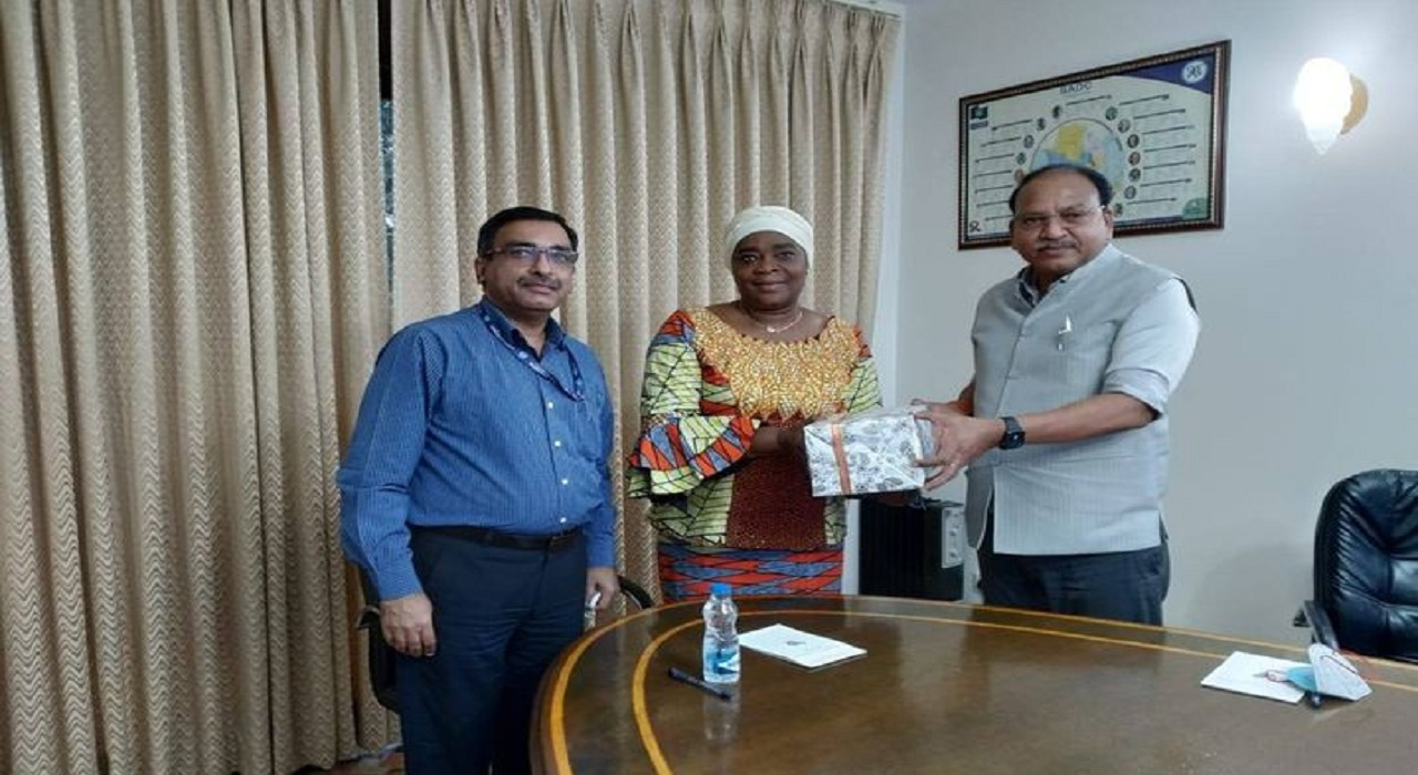 Shri Rajendra Chaudhari Director Commercial Called on Ambassador of DRC