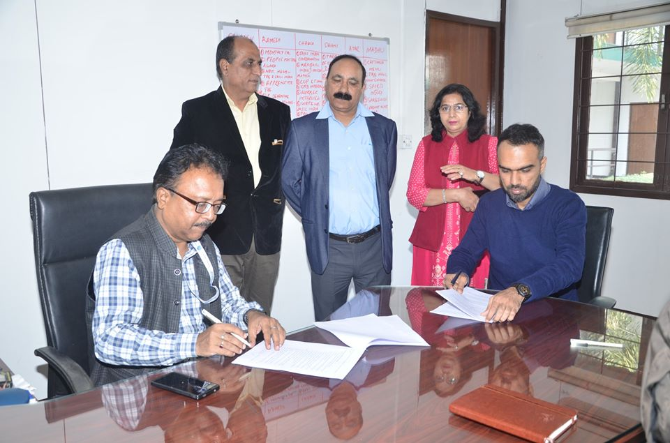 NBCC signed MoU with Furniture and Fittings Skill Council for execution of RPL