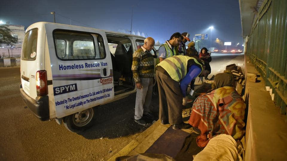NBCFDC sanctioned a program for rescue and care of homeless from the streets of Delhi