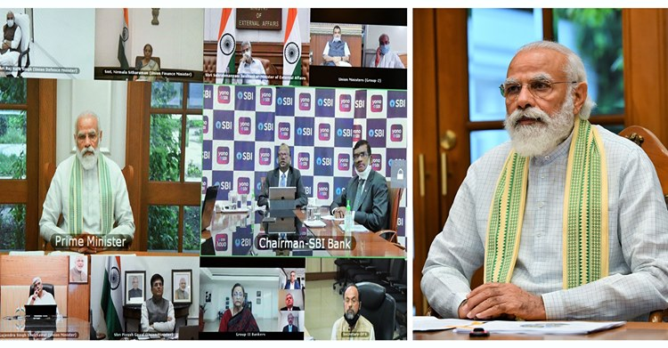 PM interacts with stakeholders from Banks and NBFCs