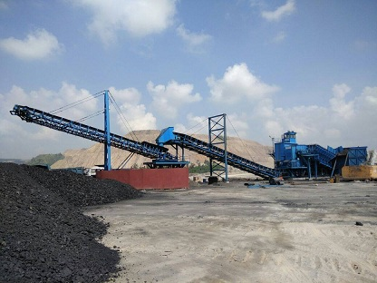 NCL COMMISSIONS MOBILE CRUSHER IN DUDHICHUA