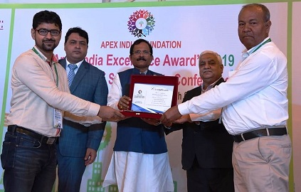 Northern Coalfields Limited bags Apex India Occupational Health and Safety Award