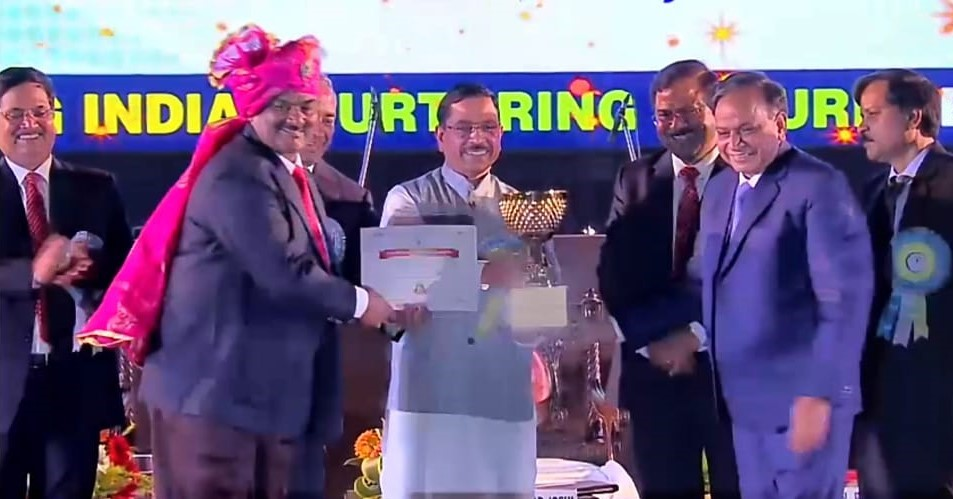 Minister of Coal Felicitates NCL on Coal India Foundation Day
